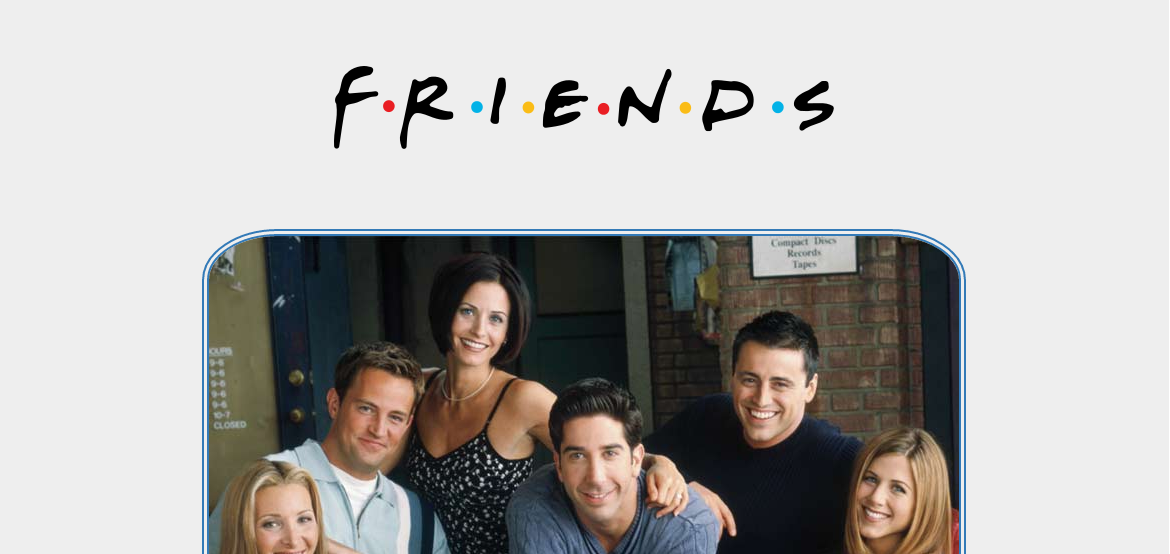 F.R.I.E.N.D.S tribute page